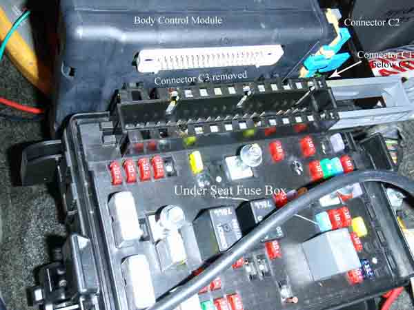 05 Trailblazer Fuse Box Diagram